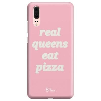 Real Queens Eat Pizza Case Huawei P20