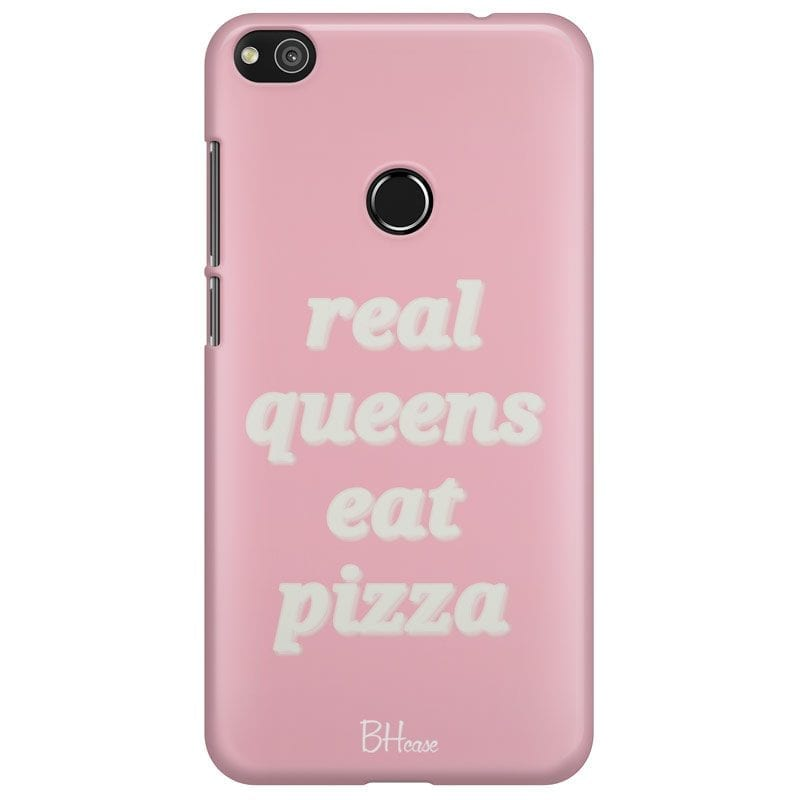 Real Queens Eat Pizza Case Huawei P8 Lite