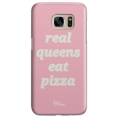 Real Queens Eat Pizza Case Samsung S7