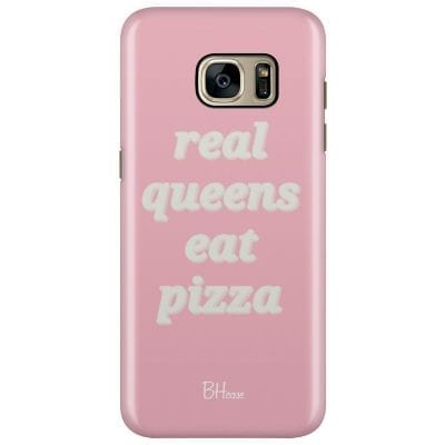 Real Queens Eat Pizza Case Samsung S7 Edge