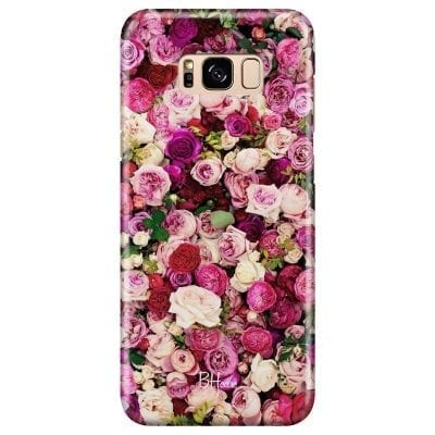 Roses Pink Case Samsung S8