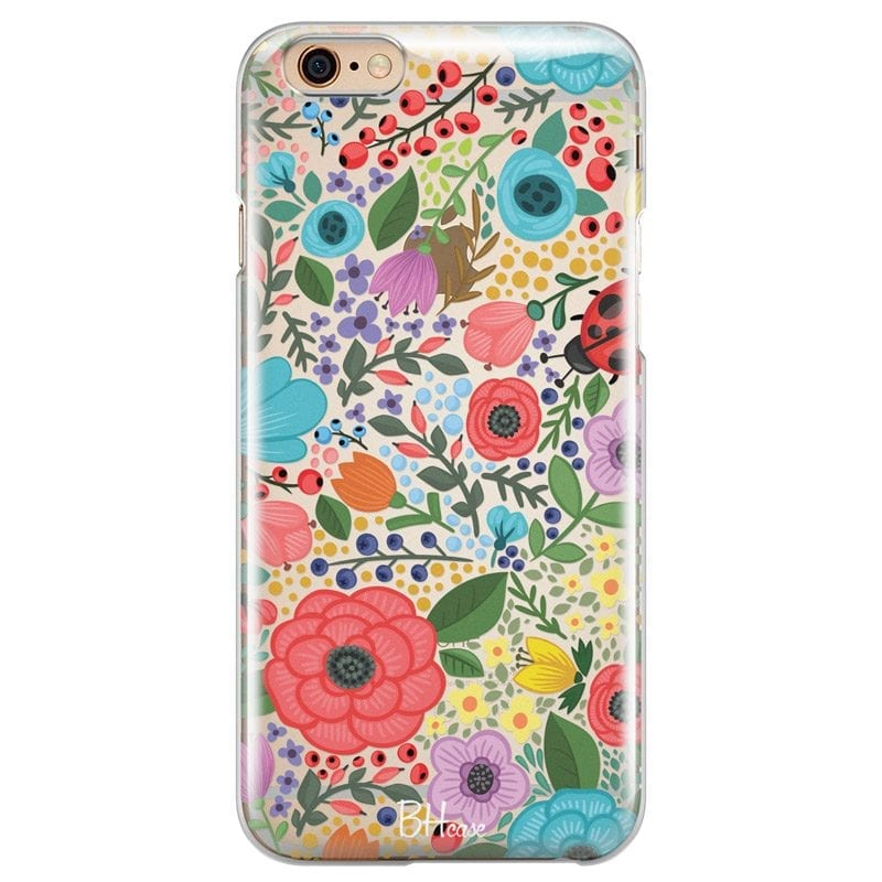 Spring Flowers Case iPhone 6/6S