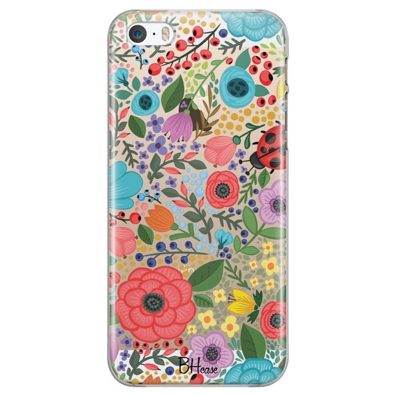 Spring Flowers Case iPhone SE/5S
