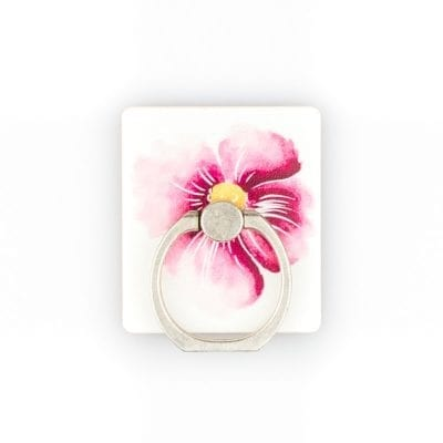 Stent Ring Kickstand White Flower