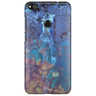 Stone Cracked Blue Case Huawei P8 Lite