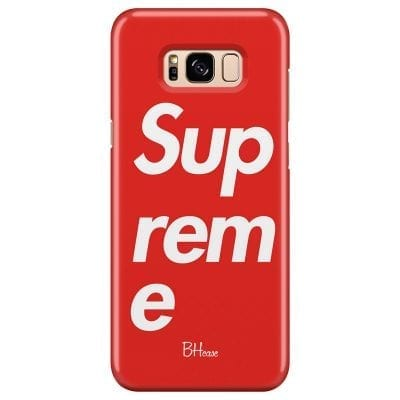 Supreme Case Samsung S8 Plus