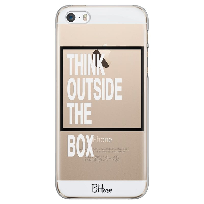 Think Outside The Box Case iPhone SE/5S