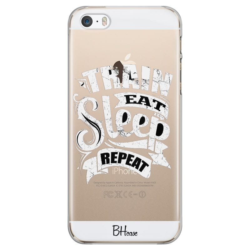 Train Eat Sleep Repeat Case iPhone SE/5S