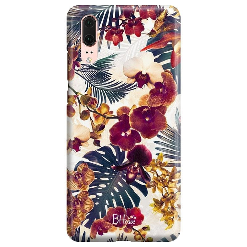 Tropical Floral Case Huawei P20
