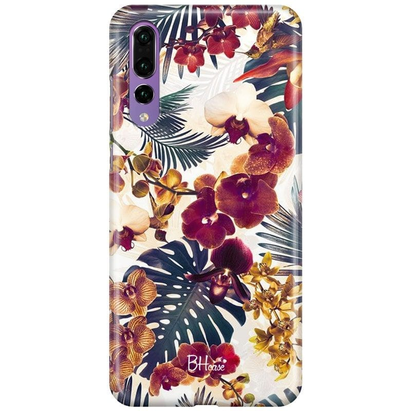 Tropical Floral Case Huawei P20 Pro