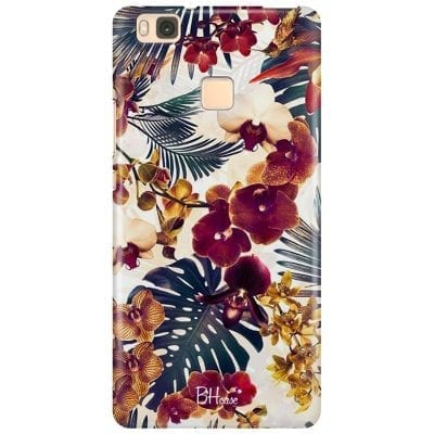 Tropical Floral Case Huawei P9 Lite