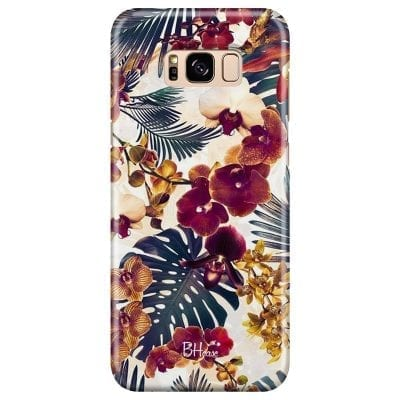 Tropical Floral Case Samsung S8 Plus