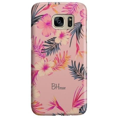 Tropical Pink Case Samsung S7