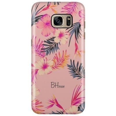 Tropical Pink Case Samsung S7 Edge