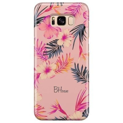Tropical Pink Case Samsung S8 Plus