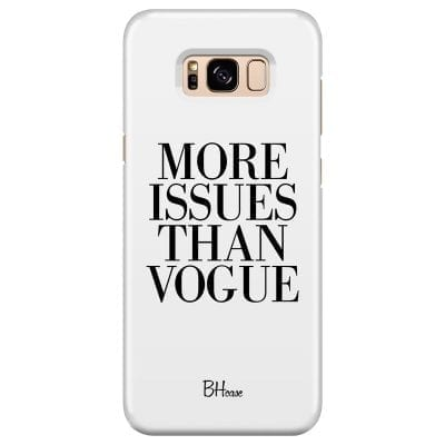 Vogue Quote Case Samsung S8 Plus