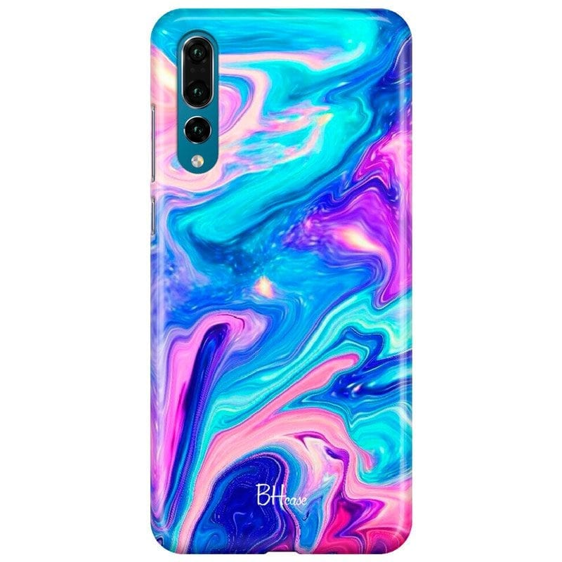 Abstract Blue Case Huawei P20 Pro