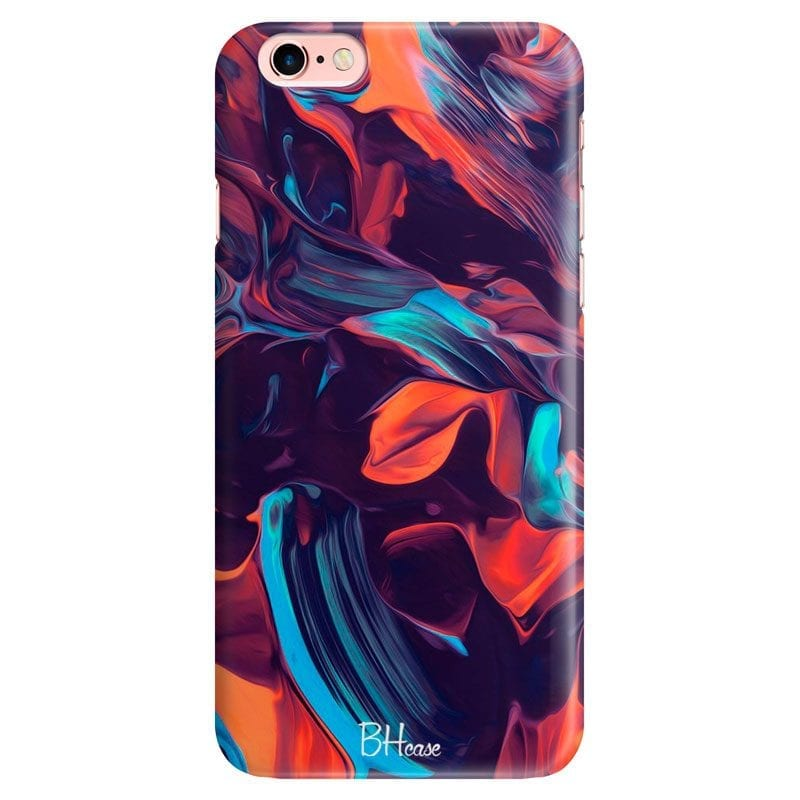 Abstract Purple Case iPhone 6 Plus/6S Plus