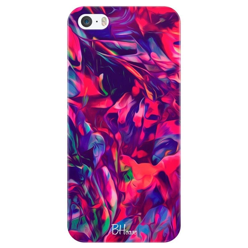 Abstract Red Case iPhone SE/5S