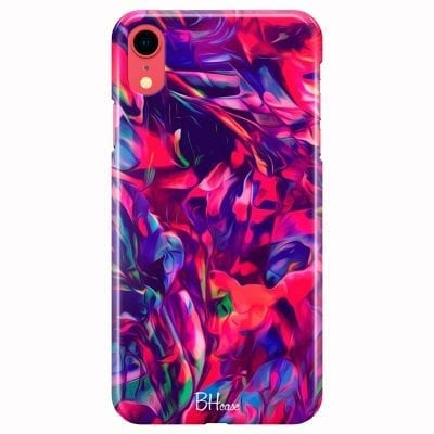 Abstract Red Case iPhone XR