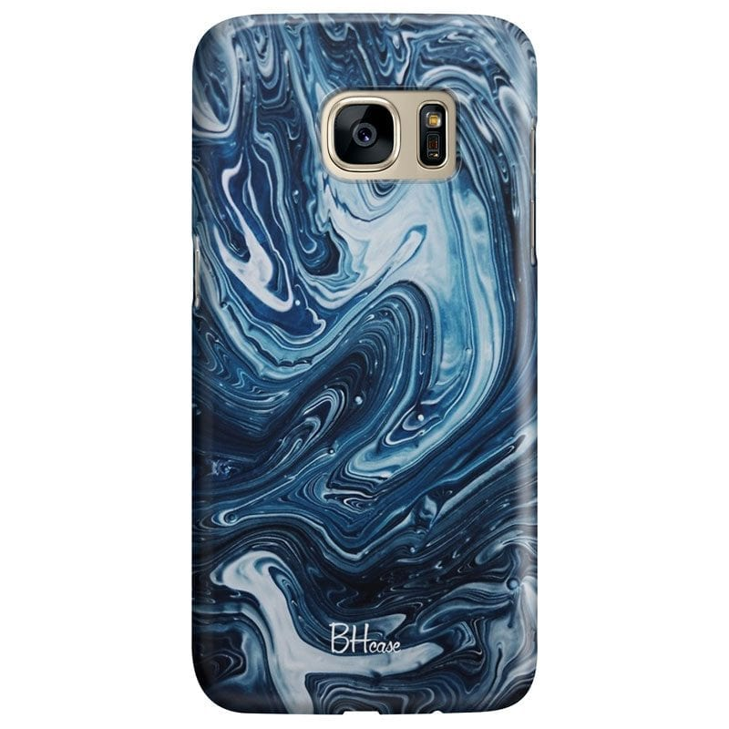 Abstract Water Case Samsung S7