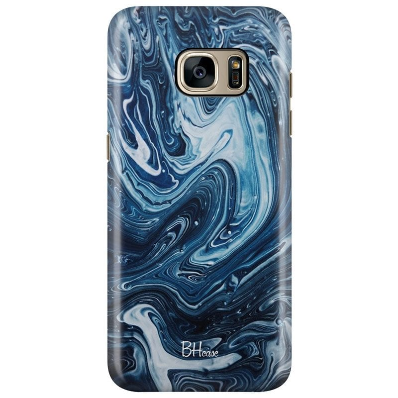 Abstract Water Case Samsung S7 Edge