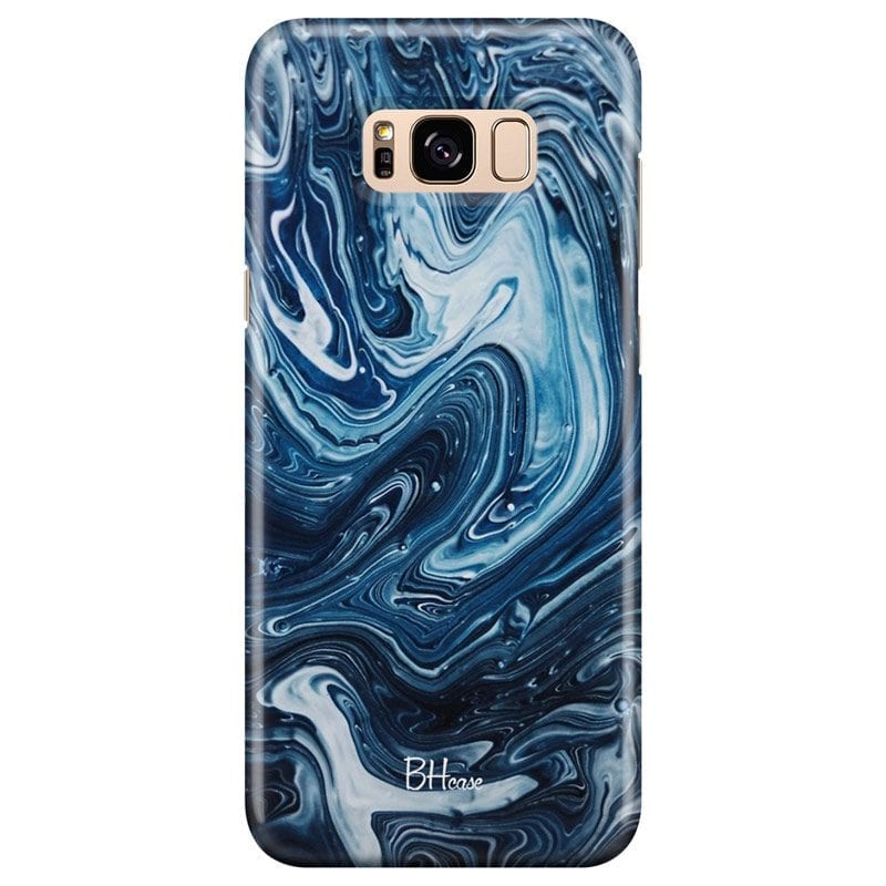 Abstract Water Case Samsung S8