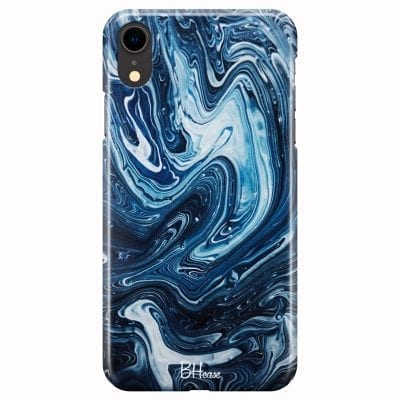 Abstract Water Case iPhone XR