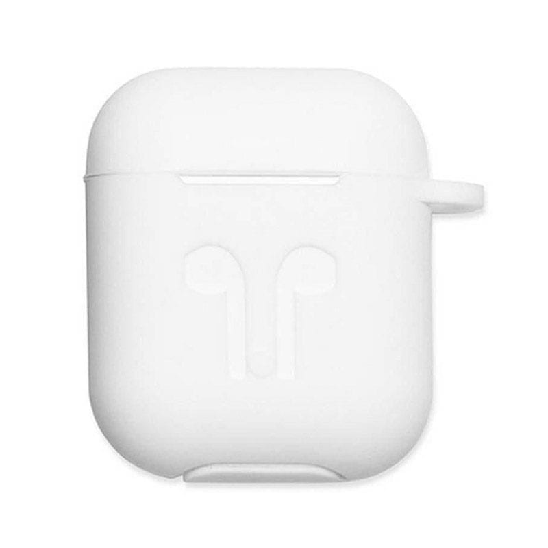 Silicone Protective Case For Airpods White