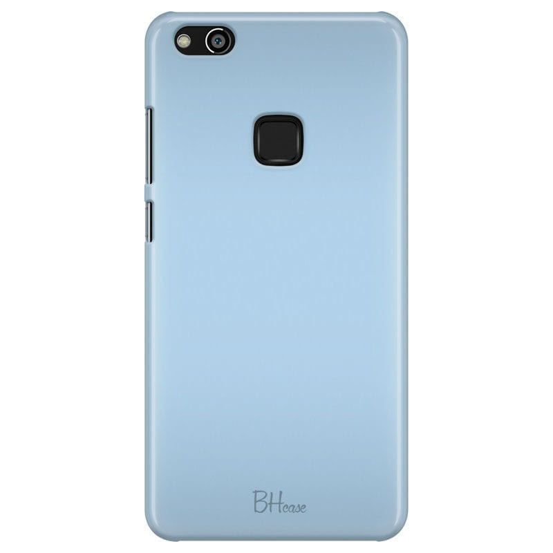 Baby Blue Color Case Huawei P10 Lite