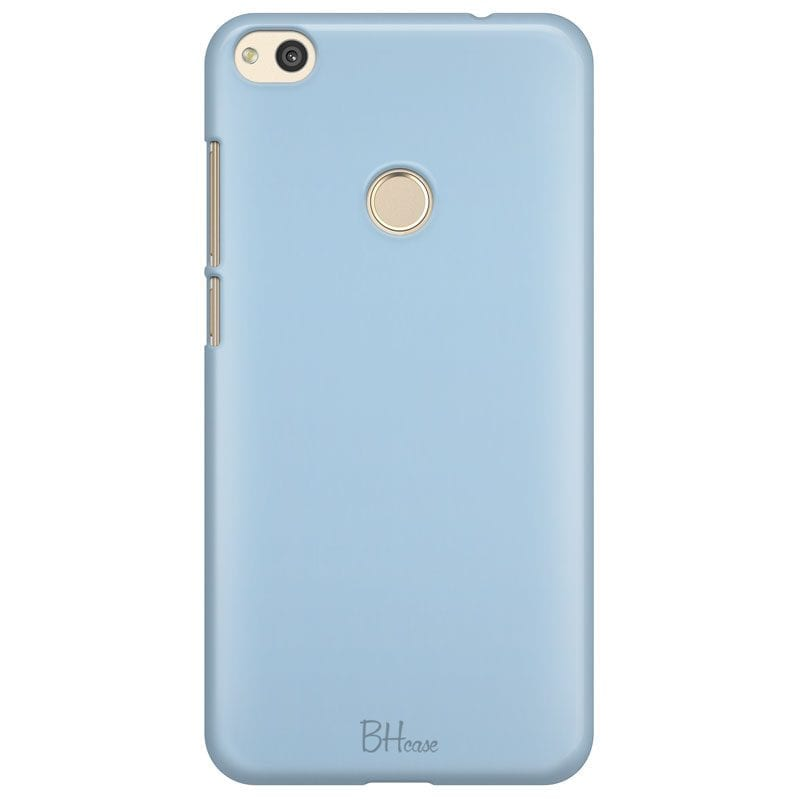 Baby Blue Color Case Huawei P8 Lite