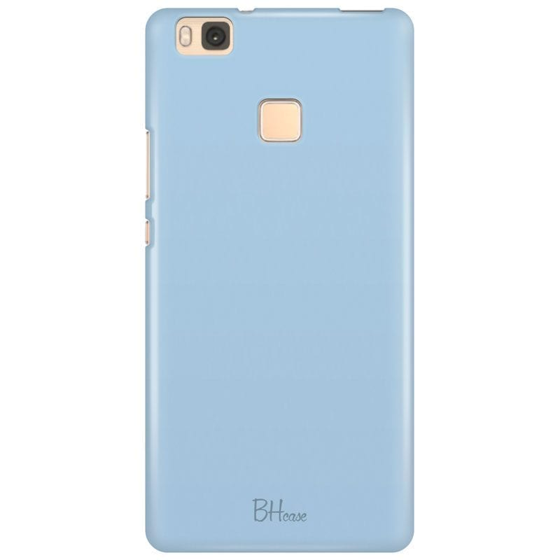 Baby Blue Color Case Huawei P9 Lite