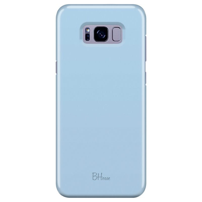 Baby Blue Color Case Samsung S8