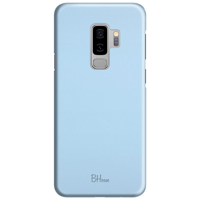 Baby Blue Color Case Samsung S9 Plus