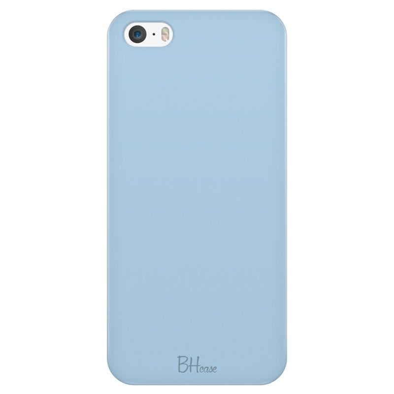 Baby Blue Color Case iPhone SE/5S