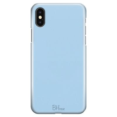 Baby Blue Color Case iPhone XS Max