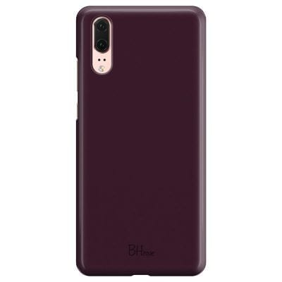 Blood Red Color Case Huawei P20