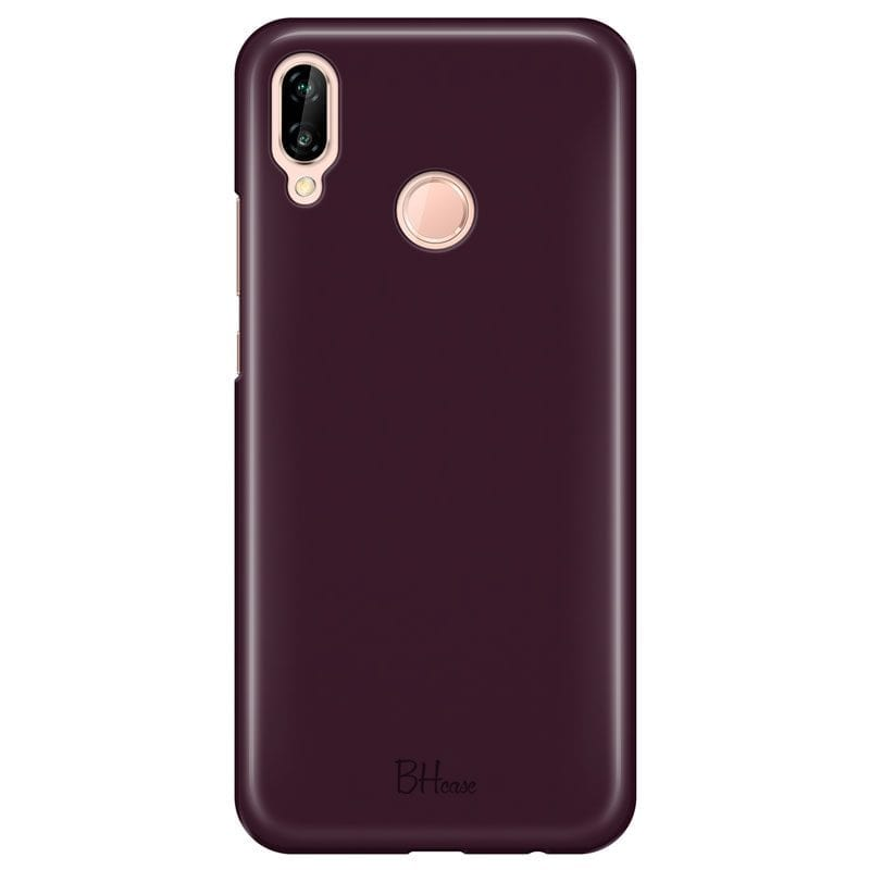 Blood Red Color Case Huawei P20 Lite