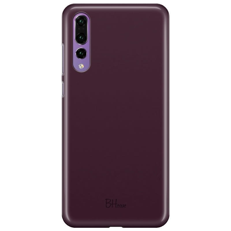 Blood Red Color Case Huawei P20 Pro