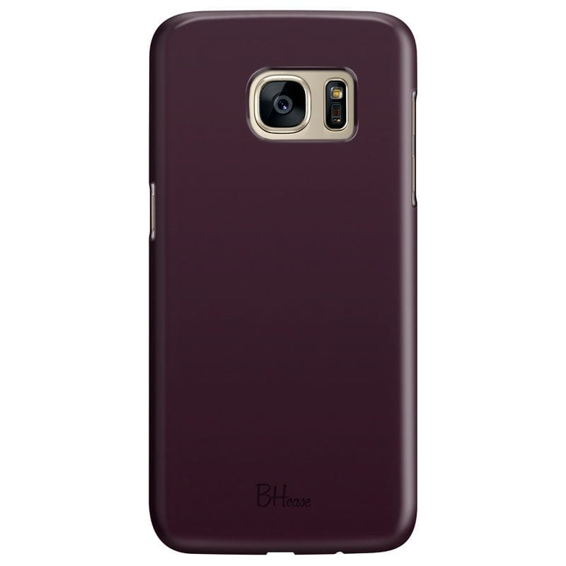 Blood Red Color Case Samsung S7