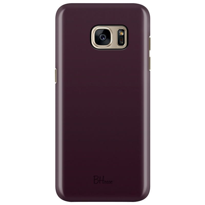 Blood Red Color Case Samsung S7 Edge