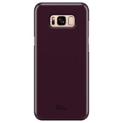 Blood Red Color Case Samsung S8