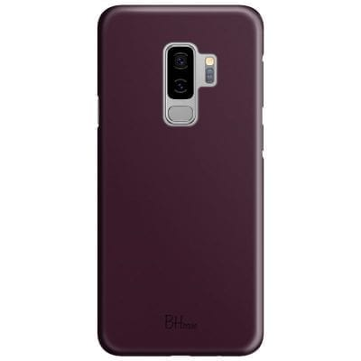 Blood Red Color Case Samsung S9 Plus