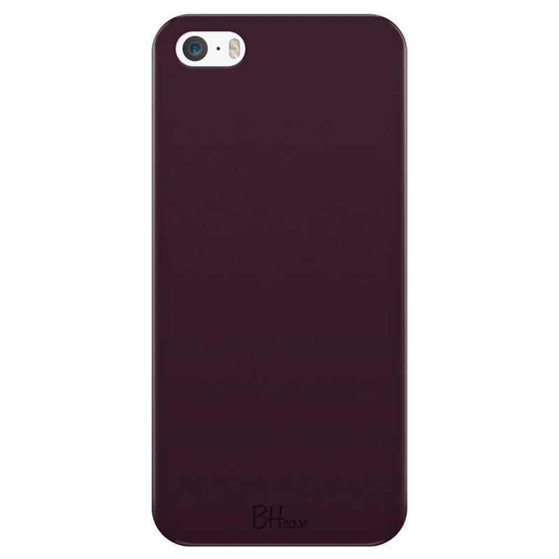 Blood Red Color Case iPhone SE/5S