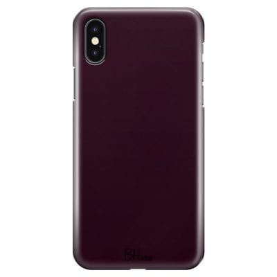 Blood Red Color Case iPhone XS Max