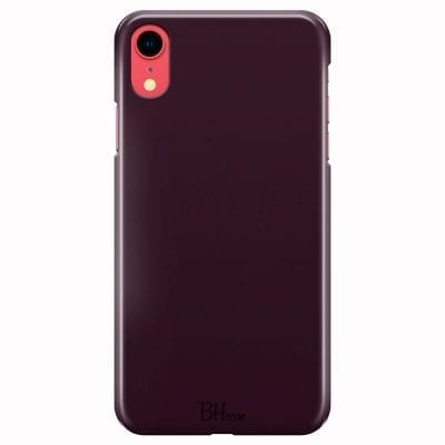 Blood Red Color Case iPhone XR