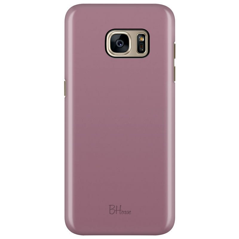 Candy Pink Color Case Samsung S7 Edge