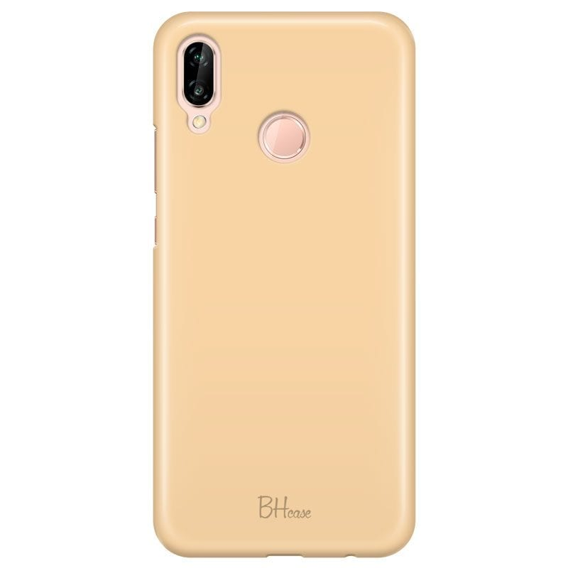Champagne Color Case Huawei P20 Lite