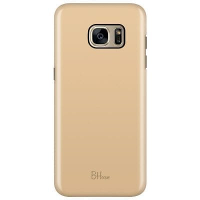 Champagne Color Case Samsung S7 Edge