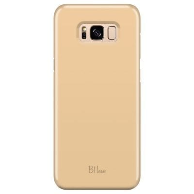 Champagne Color Case Samsung S8 Plus